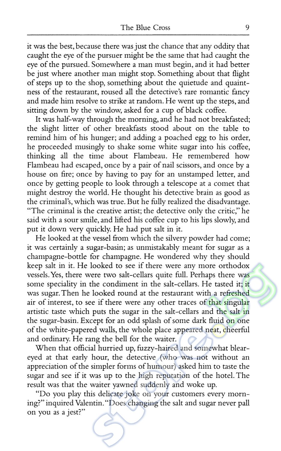 Chesterton essay on cheese