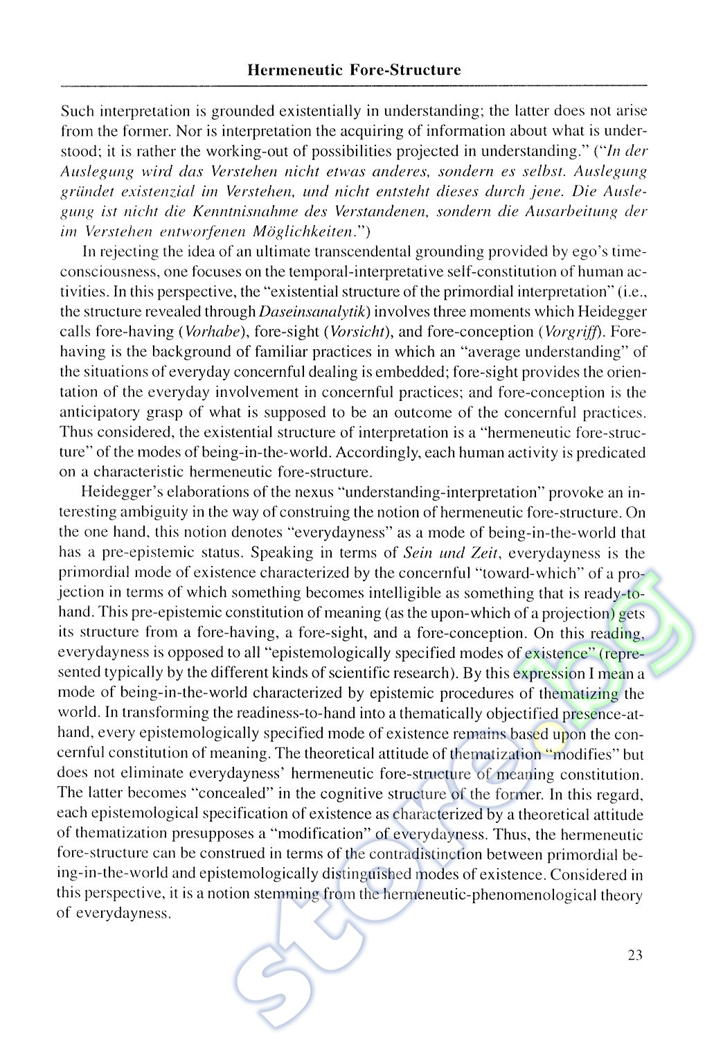 Essay on Theory of Modernity