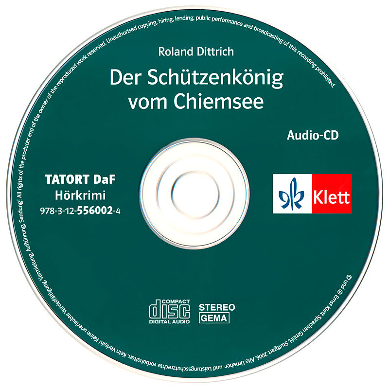 Der sch tzenkonig vom chiemsee cd for Roland dittrich