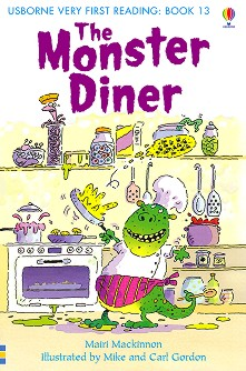 Usborne Very First Reading - Book 13: The Monster Diner - Mairi Mackinnon - книга