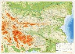 Store Bg Knigi Konturna Karta Na Blgariya S Oblasti